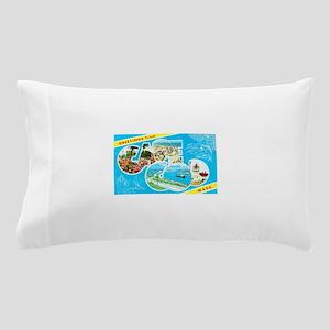 Cape Cod Massachusetts Greetings Pillow Case