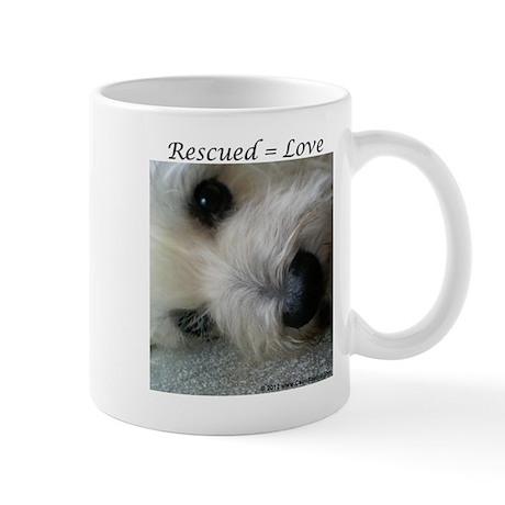 Rescued = Love Mugs