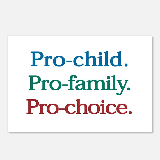 Pro-Choice Postcards (Package of 8)
