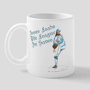 Jesus Leads The League In Sav Mug