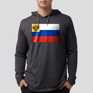 Russia - National Flag - 1914-1917 Mens Hooded Shi