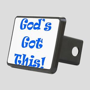 God's Got This B Rectangular Hitch Cover