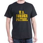 U.S. BORDER PATROL: Black T-Shirt