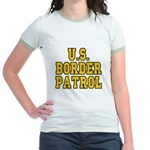 U.S. BORDER PATROL: Jr. Ringer T-Shirt