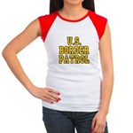 U.S. BORDER PATROL: Women's Cap Sleeve T-Shirt