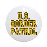 U.S. BORDER PATROL: Ornament (Round)