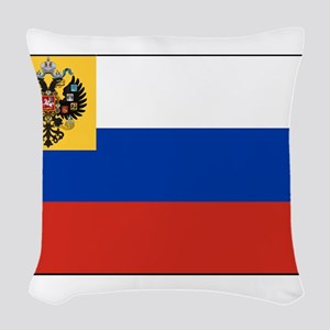 Russia - National Flag - 1914-1917 Woven Throw Pil