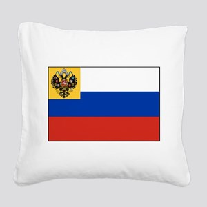 Russia - National Flag - 1914-1917 Square Canvas P