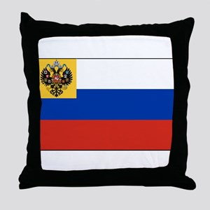 Russia - National Flag - 1914-1917 Throw Pillow