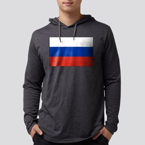 Russia - National Flag - Current Mens Hooded Shirt
