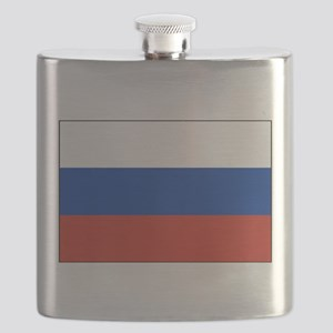 Russia - National Flag - Current Flask