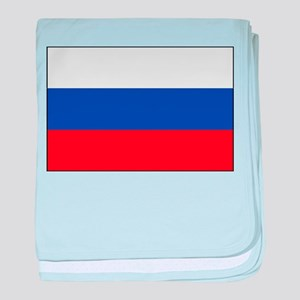 Russia - National Flag - Current baby blanket