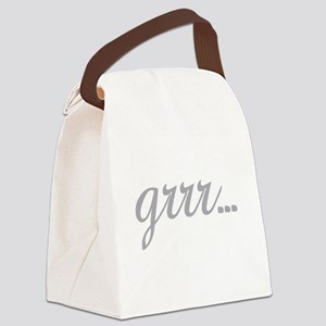 grrr... Canvas Lunch Bag