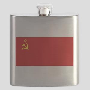 Russia - Soviet Union Flag -1923-1991 Flask