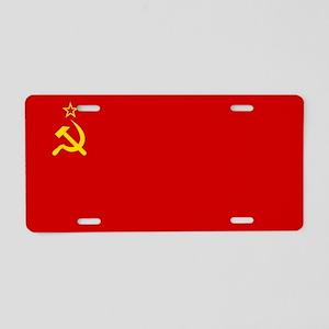 Russia - Soviet Union Flag -1923-1991 Aluminum Lic