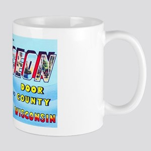 Sturgeon Bay Wisconsin Greetings Mug