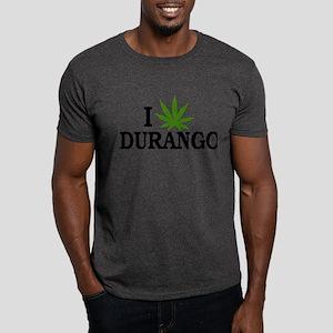 I Love Cannabis Durango Colorado Dark T-Shirt