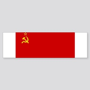 Russia - Soviet Union Flag -1923-1991 Sticker (Bum