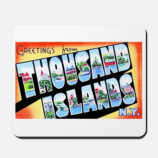 Thousand Islands New York Mousepad
