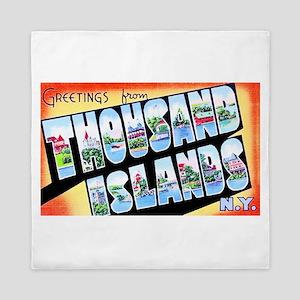 Thousand Islands New York Queen Duvet