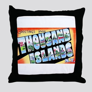Thousand Islands New York Throw Pillow