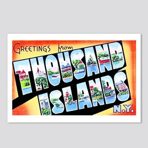 Thousand Islands New York Postcards (Package of 8)