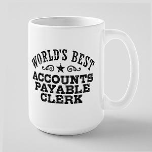World's Best Accounts Payable Clerk Large Mug