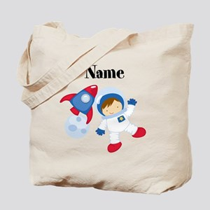 Personalized Astronaut Boy Tote Bag