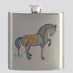 tang horse two transp Flask