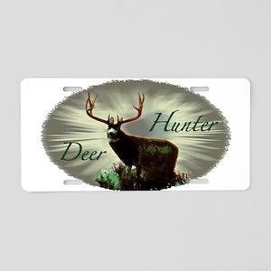 Deer hunter Aluminum License Plate