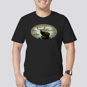 Deer Hunter Men's Fitted T-Shirt (dark)