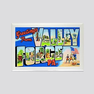 Valley Forge Pennsylvania Rectangle Magnet