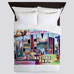 Yosemite National Park Queen Duvet