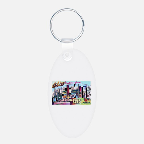 Yosemite National Park Keychains