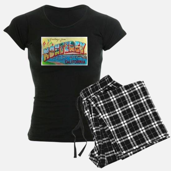 Monterey California Greetings Pajamas