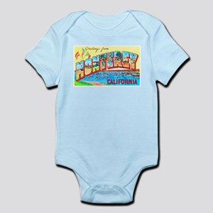 Monterey California Greetings Infant Bodysuit