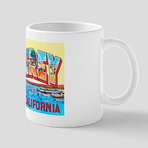 Monterey California Greetings Mug
