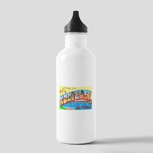 Monterey California Greetings Stainless Water Bott