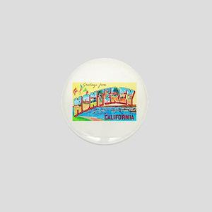 Monterey California Greetings Mini Button