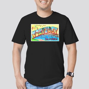 Monterey California Greetings Men's Fitted T-Shirt