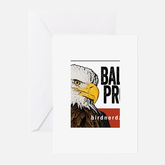 "Bald Eagle ""Bald & Proud"" Greeting Cards (Pk of 20"