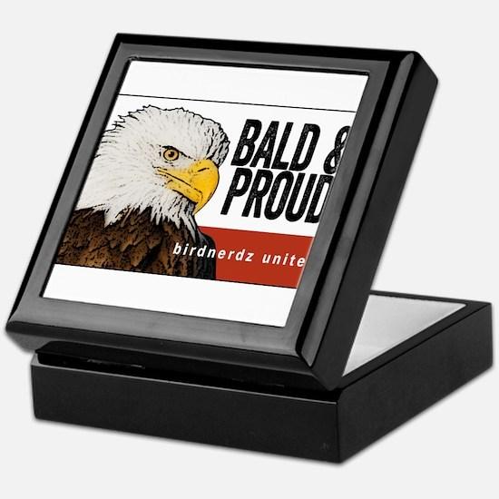 """Bald Eagle """"Bald & Proud"""" Keepsake Box"""