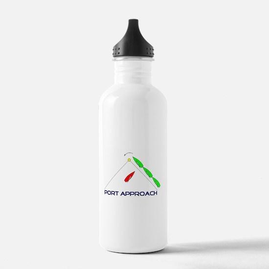 Port Approach - logo Water Bottle