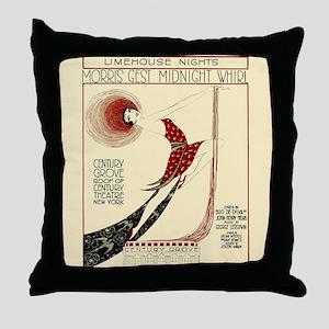 New York Vintage Throw Pillow