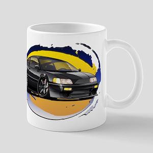 Black CRX Mug