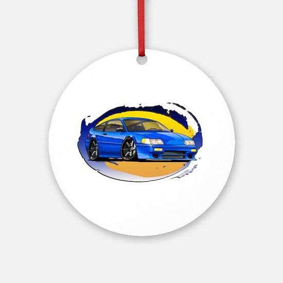 Blue CRX Ornament (Round)