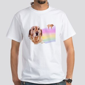 Rainbow Bridge Yellow Lab T-Shirt