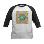 Sacred Geometry Watercolor Kids Baseball Jersey