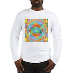 Sacred Geometry Watercolor Long Sleeve T-Shirt