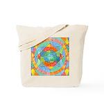 Sacred Geometry Watercolor Tote Bag